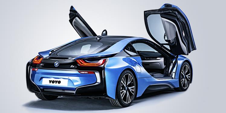 BMW i8 ile haftasonu keyfi, YOYO'da!